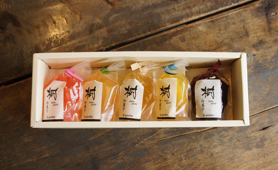 樹冷菓子 ゼリー 5個入りギフト