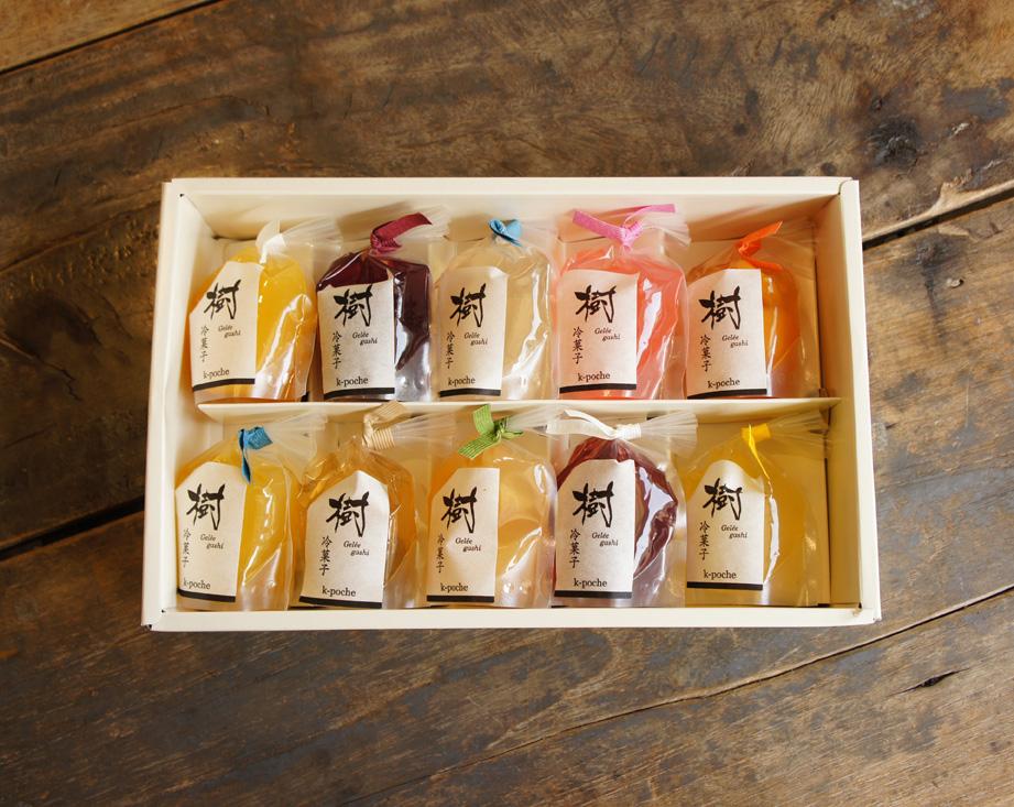 樹冷菓子 ゼリー 10個入りギフト