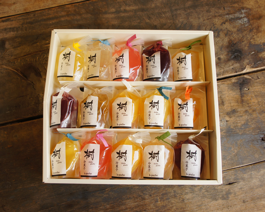 樹冷菓子 ゼリー 15個入りギフト